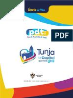 40091 Pdm- Tunja La Capital Que Nos Une 20202023