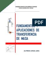 Fundamentos y Aplicaciones de Transferencia de masa - Alfredo Arias Jara.pdf