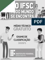 2020 IFSC PROVA