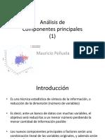 Análisis de Componentes Principales ACP