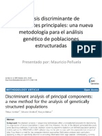Analisis Discriminante de Componentes Principales ADCP (DAPC)
