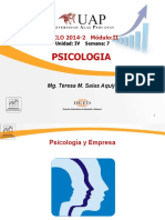 Presentacion Psicologia Unidad IV Semana 7 DIC 2014 2