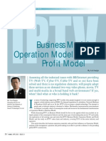 06_how to Operate-- Iptv Business Model, Operation Model & Profit Model