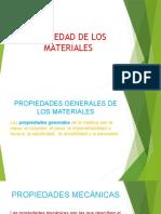 PROPIEDAD DE LOS MATERIALES