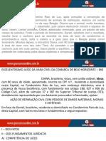 Reparação Civil CASO - Daniel e Condomínio Raio de Luz