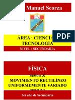FISICA 3er MRUV.pptx