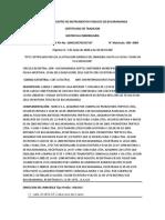 CERTIFICADO DE LIBERTAD Y TRADICIÓN