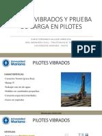 13. PILOTES VIBRADOS Y PRUEBA DE CARGA EN PILOTES