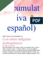 Acumulativa español