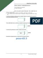 Sesión 01 Entrada-Salida y Variables en C#