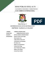 "EMPRESA ""PANADERIA QUINIUN"" LA CALIDAD"