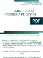 INGENIERIA DE COSTOS