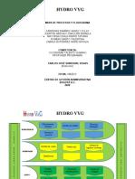 MAPA DE PROCESOS Y FLUJOGRAMA