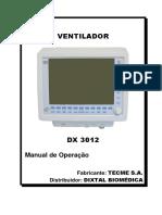 Manual de Operação - Dixtal DX 3012