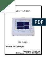 Manual de Operação - Dixtal DX 3025