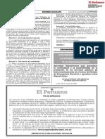 RESOLUCIÓN DE PRESIDENCIA Nº 00043-2020-PD OSIPTEL