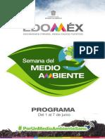 Semana del Medio Ambiente Edomex 2020 Programa
