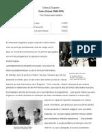 Notas al Programa Tres piezas españolas