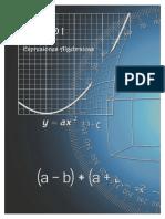 Algebra Superior Unidad I Expresiones algebraicas MATEMATICA
