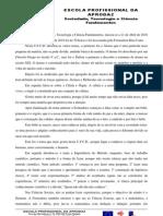 PRA de STCF- reflexão