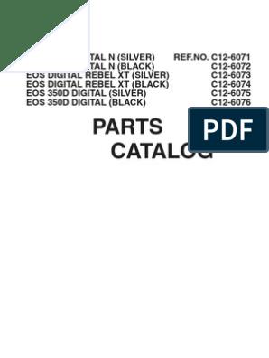 Canon EOS 350D Repair Manual   Canon Eos   Electrical Connector
