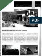 FSM _revue de presse-décembre 2010 - Habitat & Société - Construction bois - 3 opés (Courtry, Lieusaint, VSD)