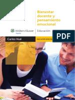 Bienestar docente y pensamiento emocional - Carlos Hue García.pdf