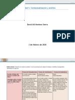 Actividad 5. Contextualización y Análisis