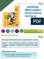 2- RESGO QUIMICO- PROYECCION PARTICULAS