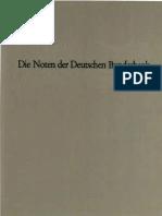 Die Noten der Deutschen Bundesbank