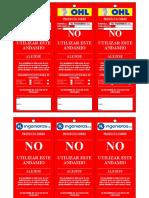 Formato Tarjetas de Andamios HL INGENIEROS
