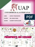 Presupuesto, IGV Y Utilidad.pptx