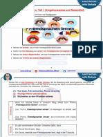 006 - B2 - Fremdsprachen lernen - Schreiben