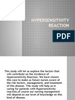 Hypersensitivity Reaction