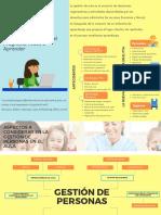 Organizador gráfico Gestión de aula en el PTA