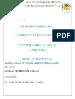 ACTIVIDADES 3,4 Y 5 UNIDAD4 AGUILAR BENITEZ