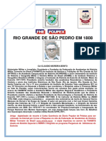 RS-O GRANDE DE SÃO PEDRO EM 1808