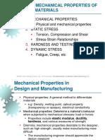 MKM I - Modul 3 - Mechanical Properties of Materials