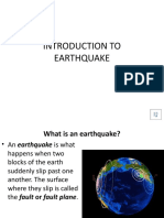 1.Introduction to Earthquake