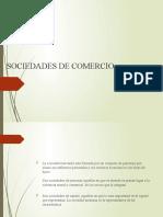 Sociedades de Comercio
