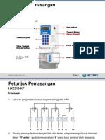 Manual Pemasangan HXE313-KP