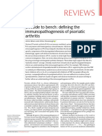 2019 Bedside to bench- defining the immunopathogenesis of psoriatic arthritis