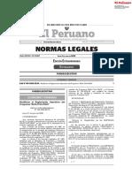 Resolución Ministerial N° 165-2020-EF/15