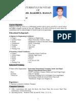 RAKIBUL HASAN  2 PAGE CV
