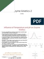 CH432 Enzyme kinetics 2