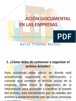 tema 2. ORGANIZACIÓN DOCUMENTAL EN LAS EMPRESAS
