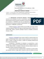 ORIENTACAOTECNICA007.2020PROCEDIMENTOSPARAAFASTAMENTOSDESERVIDORE SPUB  LICOSPARACONCORRERAOPLEITOELEITORAL
