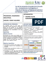 Poster Competencias Investigativas II
