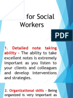 Skills for Social Workers