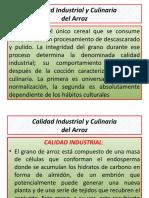 Calidad Industrial y Culinaria